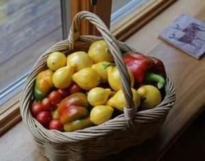 Garden Harvest basket photo by Gail E Rowley Ozark Stream Photography