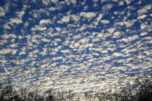 Ozark Sky in December photo taken by Gail E Rowley Ozark Stream Photography